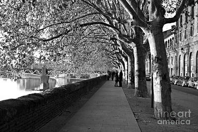 Photograph - Romantic Walk by Cendrine Marrouat