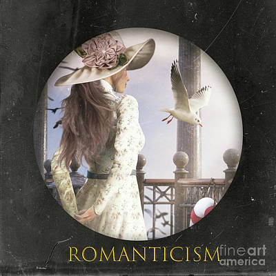 Mixed Media - Romanticism Logo by Shanina Conway