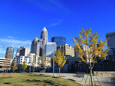 Charlotte Photograph - Romare Bearden Park In Charlotte by Jill Lang