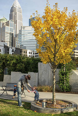 Photograph - Romare Bearden Park In Charlotte, Nc by Kevin McCarthy
