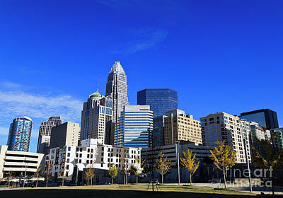 Photograph - Romare Bearden Park by Jill Lang