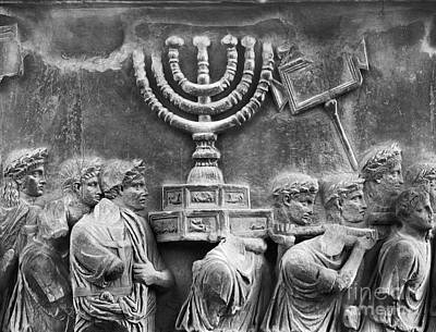 Judaica Photograph - Rome: Arch Of Titus by Granger
