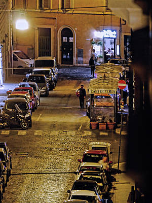 Photograph - Rome At Night by S Paul Sahm