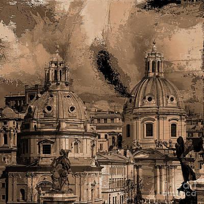 Painting - Rome Bert 01 by Gull G