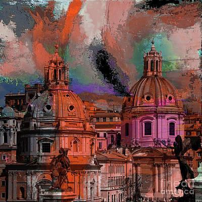 Painting - Rome Bert  by Gull G