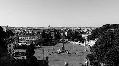 Historical Photograph - Rome Cityscape 4 by Andrea Mazzocchetti