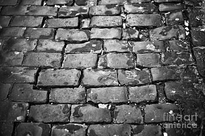 Photograph - Rome Cobblestone by John Rizzuto