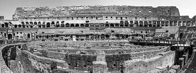 Photograph - Rome Colosseum Day Inside  by John McGraw