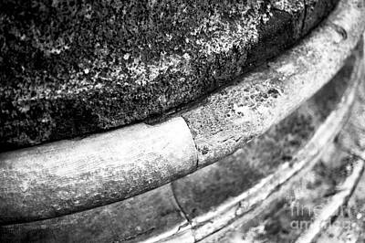 Photograph - Rome Column Details by John Rizzuto