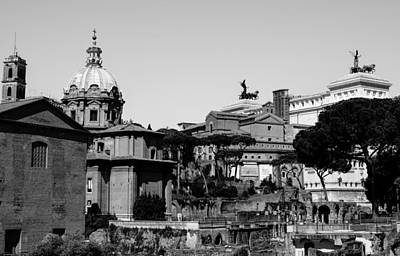 Rome - Details From The Imperial Forums 3 Art Print by Andrea Mazzocchetti