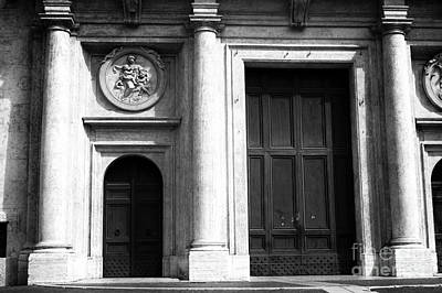 Photograph - Rome Door Sizes by John Rizzuto