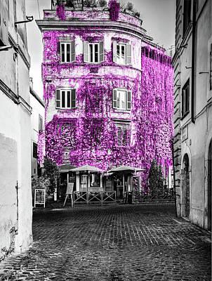 Photograph - Rome Facade by Al Hurley