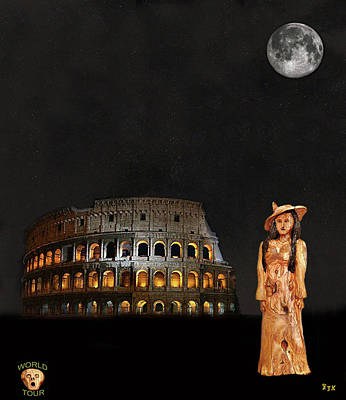 Ancient Rome Mixed Media - Rome Fashion by Eric Kempson