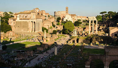 Photograph - Rome - Imperial Forums by Andrea Mazzocchetti