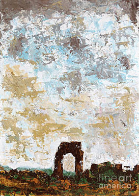 Painting - Rome, Italian Landscape  - Landscape, Painting by Alessandro Nesci