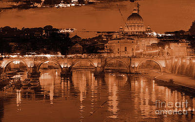 Painting - Rome Italy 02 by Gull G