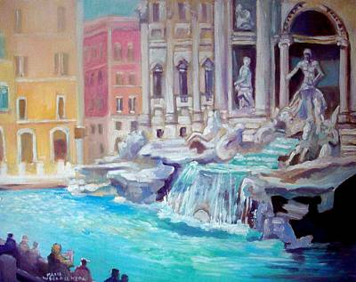 Painting - Rome  Italy by Paul Weerasekera