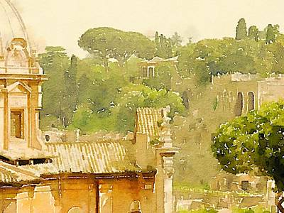 Fashion Design Art Painting - Rome by John Springfield