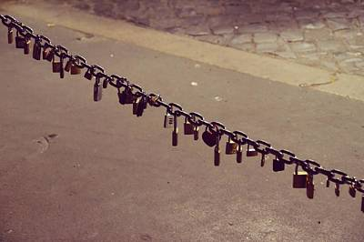 Photograph - Rome Lovers Locks  by JAMART Photography