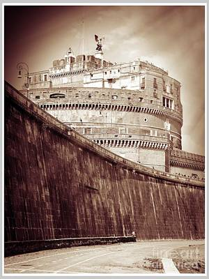 Rome Monument Architecture Art Print by Stefano Senise