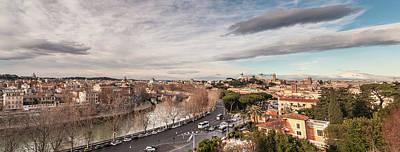 Photograph - Rome - Panorama  by Sergey Simanovsky