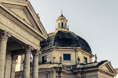 Rome - Piazza Del Popolo 2 Art Print