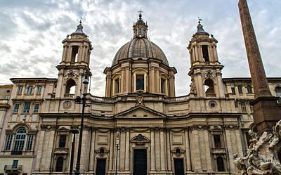 Ancient Rome Photograph - Rome - Piazza Navona - A View 4 by Andrea Mazzocchetti