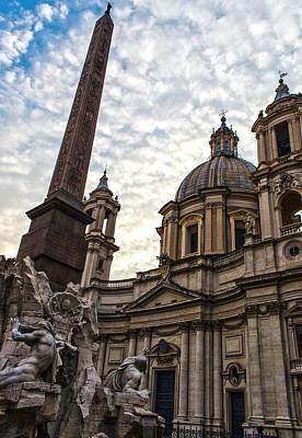 Rome - Piazza Navona - A View Art Print
