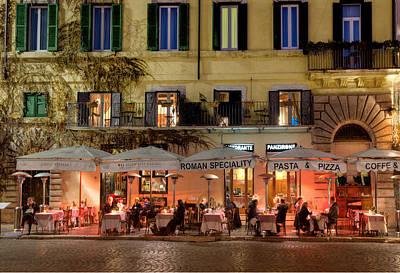 Photograph - Rome Ristorante by Al Hurley