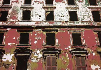 Ruins Mixed Media - Rome Ruin 4 by Shay Culligan