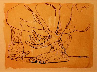Rome Series IIi Art Print by Dan Earle