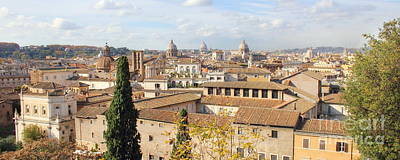 Photograph - Rome Skyline by Angela Rath