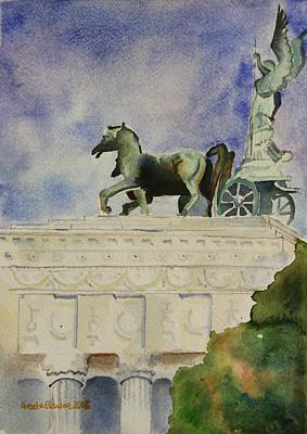 Painting - Rome Souvenir by Geeta Biswas