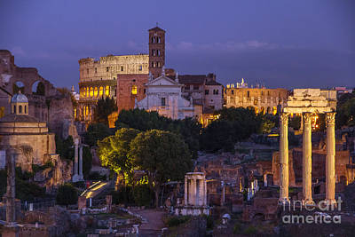 Rome Art Print by Spencer Baugh