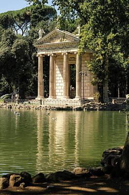 Photograph - Rome - Temple Of Aesculapius 2 by Andrea Mazzocchetti
