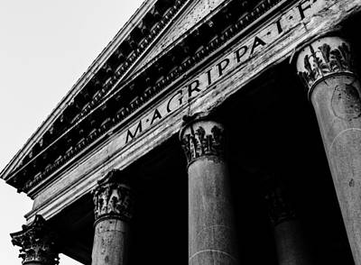 Rome - The Pantheon Art Print by Andrea Mazzocchetti