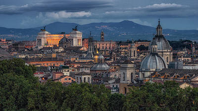 Photograph - Rome Twilight by James Billings