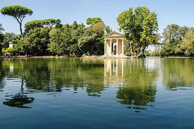 Rome - Villa Borghese Gardens Art Print