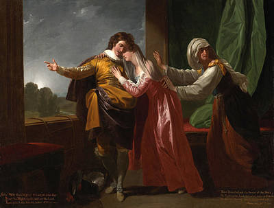 P.r Painting - Romeo And Juliet by MotionAge Designs