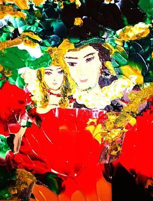 Romeo And Juliet Art Print by Carmen Doreal