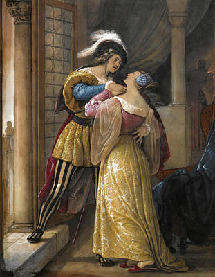 Romeo And Juliet Painting - Romeo And Juliet by Francesco Hayes