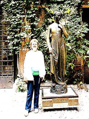 Photograph - Romeo's Julietta And My Barbara - Verona, Italy  by Merton Allen
