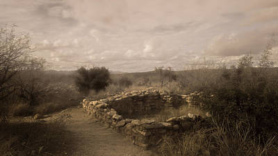 Archeology Photograph - Romero Ruin by Joseph Smith