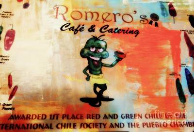 Photograph - Romero's 1 by Kelly Awad