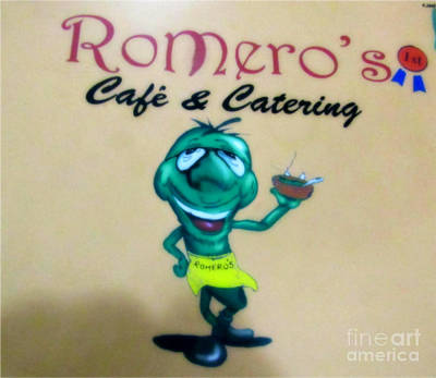 Photograph - Romero's Chile Man by Kelly Awad