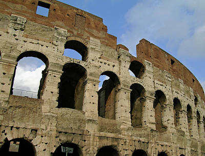 Photograph - Rome's Colosseum by Sandy Taylor