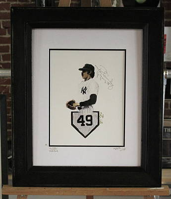 Ron Guidry The Gator Original by Iconic Images Art Gallery David Pucciarelli