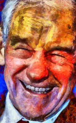 Digital Art - Ron Paul by Caito Junqueira