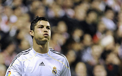 Athletes Royalty-Free and Rights-Managed Images - Cristiano Ronaldo 27 by Rafa Rivas