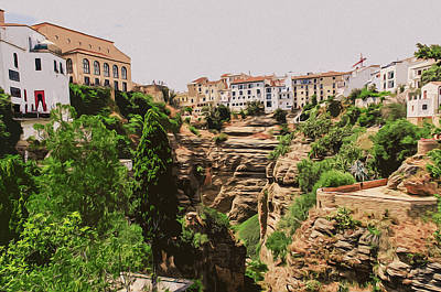 Painting - Ronda, Andalusia by Andrea Mazzocchetti